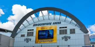 The Bridgestone Arena, home to NHL franchise Nashville Predators