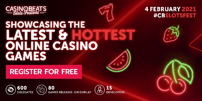 CasinoBeats Slots Festival of 2021 is set to bring together operators and affiliates to play the latest titles from leading developers and studios.