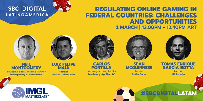 SBC Digital Latinoamérica will host an IMGL Masterclass which will see leading legal experts address the online gaming's regulation challenges.