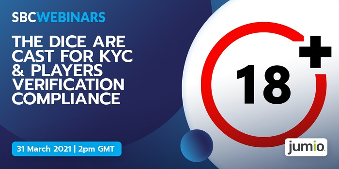 The SBC Webinars series continues on March 31, when Jumio, Sky Betting & Gaming, and Playtech share insights on the latest KYC regulations and more.