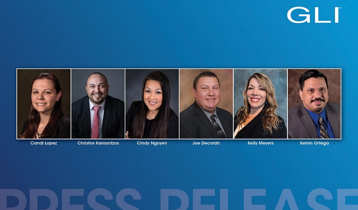 Gaming Laboratories International (GLI) has expanded its customer service teams with a combination of promotions and new appointments.