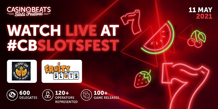 CasinoBeats Slots Festival will showcase the increasing influence of igaming streamers when Fruity Slots and Jackpot Sam put the latest games through their paces.
