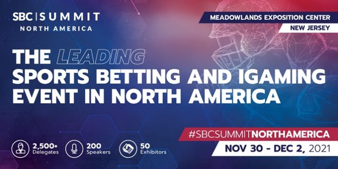 SBC has confirmed that its SBC Summit North America 2021 event will go ahead at New Jersey's Meadowlands Exposition Center on November 30 - December 2.