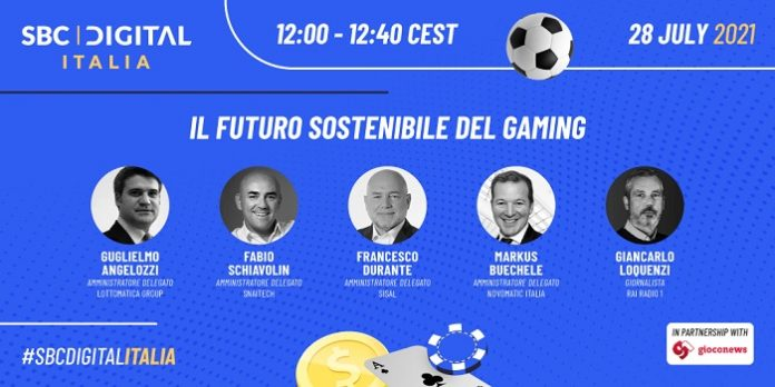 SBC Digital Italia's CEO panel will see leaders from Lottomatica, SNAITECH, Sisal and Novomatic Italia share their ideas about the gaming industry's future.