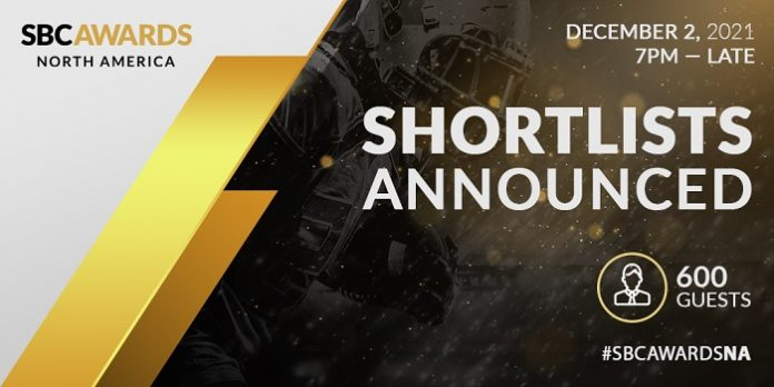 The inaugural SBC Awards North America will see gaming's biggest brands go head-to-head, with Bally's, BetMGM, DraftKings, and FanDuel all shortlisted.