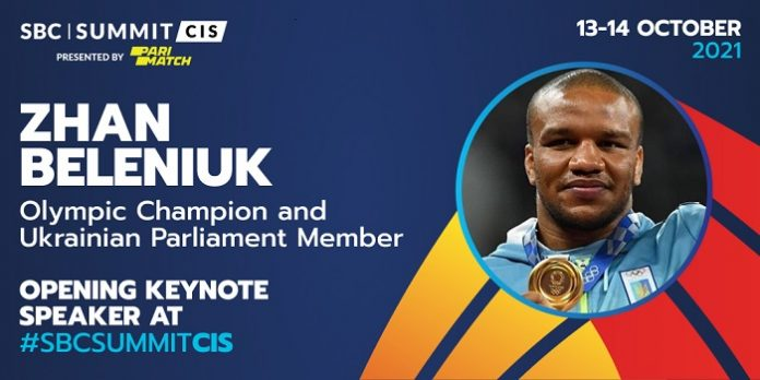 Olympic gold medalist Zhan Beleniuk is to deliver the welcome address at this week's inaugural SBC Summit CIS, Presented by Parimatch, in Kyiv.