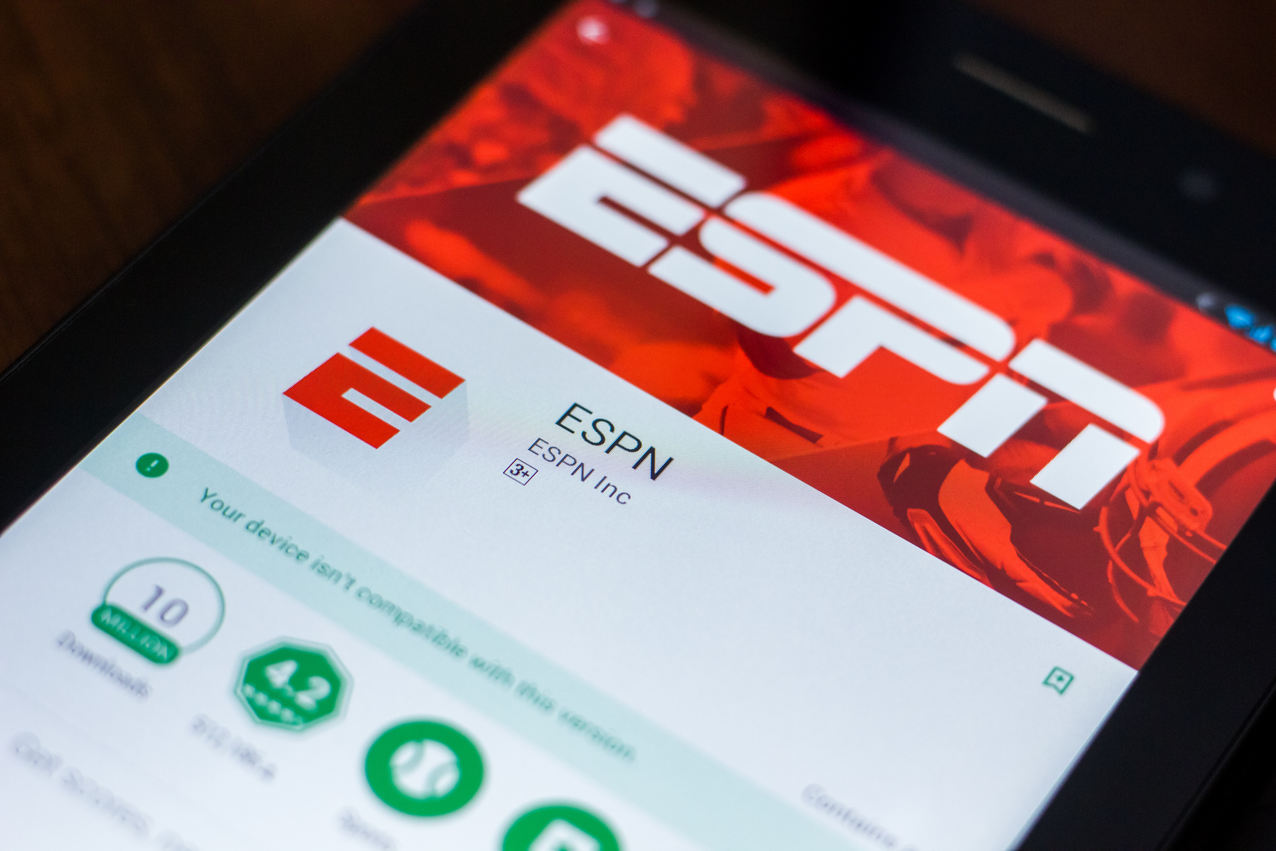 Espn betting app boxing betting lines matchups and odds