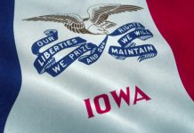 Iowa's sports wagering fell for the third consecutive month in June, despite revenue improving and the pace of betting per day holding, according to PlayIA.