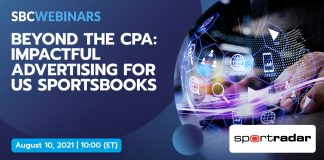 Sportradar and SBC Webinars present beyond the cpa: impactful advertising for US sportsbooks
