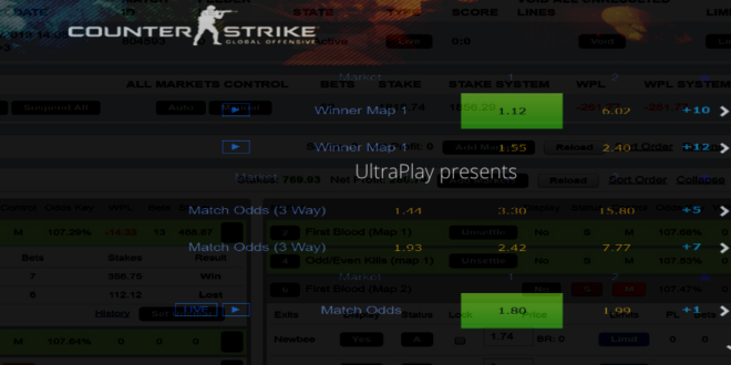 UltraPlay releases free esports odds feed ODDS gg