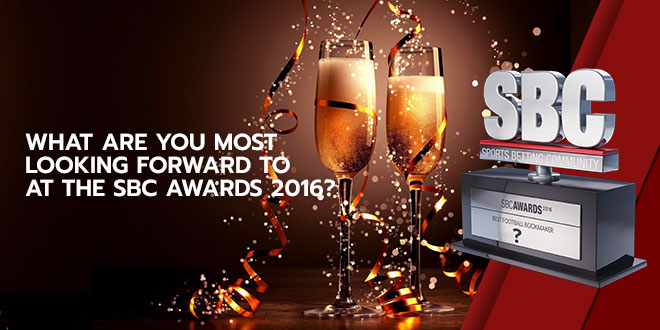 What are you most looking forward to at the SBC Awards 2016?