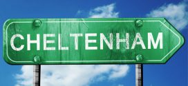 Cheltenham - 56495672 - cheltenham, 3d rendering, green grunge road sign