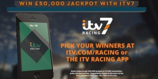 ITV launches Racing App featuring £100,000 William Hill