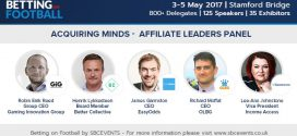 GIG, Better Collective, Easyodds and OLBG debate affiliate M&A at Betting on Football 2017