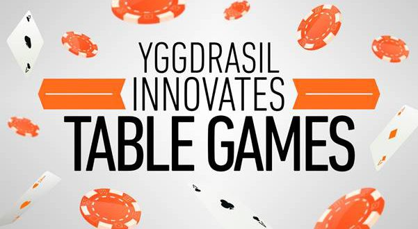 Yggdrasil plans to revolutionise table games sector for 11 x table games