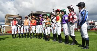 """An expansion of the Silk Series has been revealed by the Arena Racing Company (ARC), with races from an extra four races set be encompassed into the 2018 offering. Ahead of International Women's Day tomorrow (March 8), Goodwood, Hamilton Park, Musselburgh and York Racecourses have been announced as joining the initiative, which launched in 2017 across nine ARC tracks. The enterprise gives female jockeys a chance to compete for a share of £150,000, including the £20,000 final which will take place once again on Ladies Day of the William Hill St Leger Festival at Doncaster Racecourse, on Thursday 13 September 2018, Held across thirteen popular summer racedays, with points accrued at each depending on finishing positions, the series also raises funds and awareness for Cancer Research UK. Susannah Gill, ARC Director of External Affairs, said, """"We were all absolutely delighted with the reception that The Silk Series got from the racing community and wider sports industry last year, and we are very pleased to welcome our new racecourse partners in Goodwood, Hamilton Park, Musselburgh and York. """"All four racecourses will help to increase the opportunities for female jockeys to compete on popular racedays and give a valuable contribution to raise the profile of The Silk Series. """"We hope interest in The Silk Series will continue to grow this summer, and look forward to competitive racing as we did last year, with Megan Nicholls a very worthy winner of The Tufnell Trophy"""" Jockey Hollie Doyle, who passed the 100 career wins barrier in January, acts as a Silk Series ambassador, and commented: """"Last summer, The Silk Series offered a number of the female jockeys the opportunity to ride that they might not have had before, and the chance to ride for new trainers as well, which is key to helping progress your career. """"I'm absolutely delighted to be involved again this year and look forward to sharing my thoughts and views on being a professional jockey with my blog"""""""