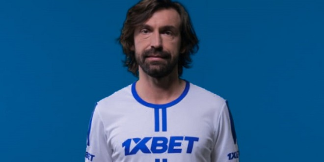 Andrea Pirlo joins 1xBet as br...