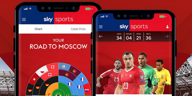 InCrowd develops tailored Russia 2018 predictor game for Sky