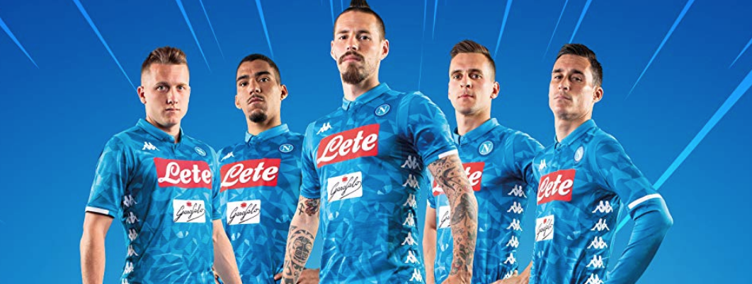 Amazon ups European Football profile launching  Napoli Brandstore  9bd38b0af9edd