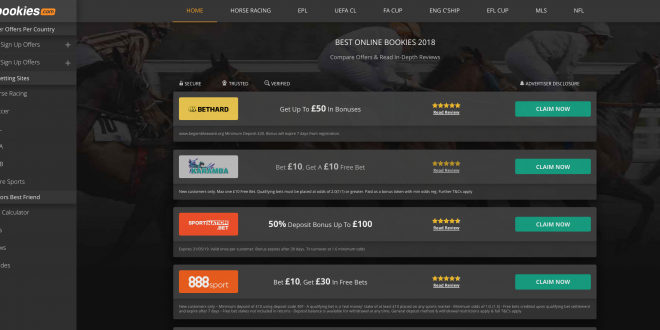 bookies.com relaunches aiming to become US betting's 'top ...