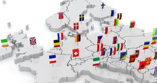 STS - 20341995 - three-dimensional map of europe 3d