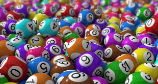 Betinvest - 3d lottery balls with depth of field.