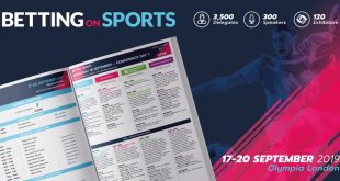 Betting on Sports 2019 Final Agenda