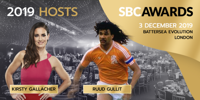 Ruud Gullit and Kirsty Gallacher to host SBC Awards 2019