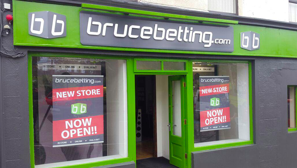 Bruce betting ireland bookmakers buy bitcoins with paypal anonymous