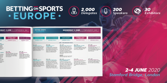 Betting on Sports Europe Conference Agenda