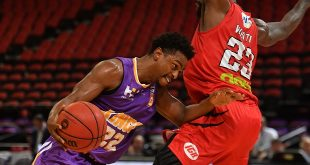 Stats Perform - Kings Casper Ware in action during Game 3 of the NBL Finals match between Sydney Kings and Perth Wildcats at Qudos Bank Arena in Sydney, Sunday, March 15, 2020. (AAP Image/Mick Tsikas) NO ARCHIVING, EDITORIAL USE ONLY ** STRICTLY EDITORIAL USE ONLY, NO COMMERCIAL USE, NO BOOKS **
