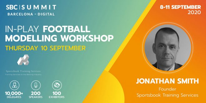Jonathan Smith, Sportsbook Training Services: In-Play Football Modelling Masterclass