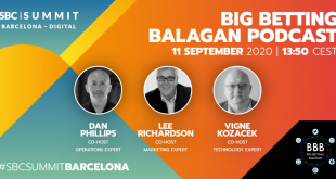 Big Betting Balagan Podcast at SBC Summit Barcelona