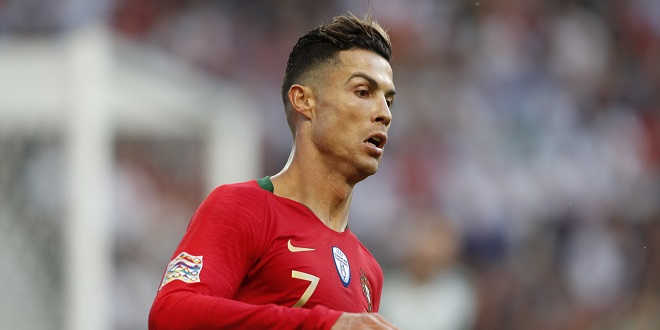 Cristiano Ronaldo (POR), JUN 9, 2019 - Football / Soccer : UEFA Nations League final match between Portugal 1-0 Netherlands at the Estadio do Dragao in Porto, Portugal. (Photo by Mutsu Kawamori/AFLO)