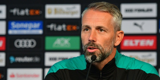 Bundesliga - xnjx 17.09.2020 Mönchengladbach 1. Fussball-Bundesliga Pressekonferenz Borussia Moenchengladbach vor dem Spiel bei Borussia Dortmund Marco Rose Trainer Gladbach Gemaess den Vorgaben der DFL Deutsche Fussball Liga ist es untersagt, in dem Stadion und/oder vom Spiel angefertigte Fotoaufnahmen in Form von Sequenzbildern und/oder videoaehnlichen Fotostrecken zu verwerten bzw. Verwerten zu lassen. DFL regulations prohibit any use of photographs as image sequences and/or quasi-video. Moenchengladbach *** xnjx 17 09 09 2020 Mönchengladbach 1 Football Bundesliga Press conference Borussia Moenchengladbach before the game at Borussia Dortmund Marco Rose Trainer Gladbach According to the DFL Deutsche Fussball Liga regulations it is prohibited to use photographs taken in the stadium and/or during the game in the form of sequence images and/or video-like photo series or to have them used DFL regulations prohibit any use of photographs as image sequences and or quasi video Moenchengladbach.