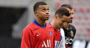 PSG - Kylian Mbappe - FOOTBALL : OGC Nice vs Paris SG - Ligue 1 Ubereat - Nice (Photo by Lionel Urman/Sipa USA)