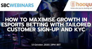 HooYu webinar - how to maximise esports betting growth with tailored customer sign-up