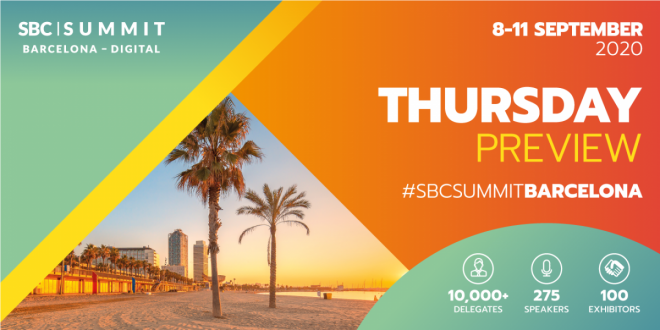 SBC Summit Barcelona - Day Three Preview