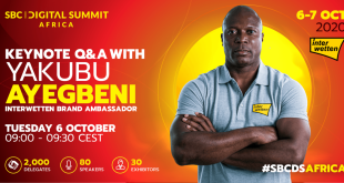 Yakubu at SBC Digital Summit Africa
