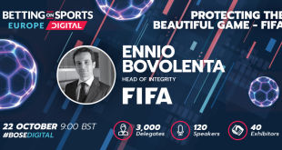 FIFA Head of Integrity Ennio Bovolenta