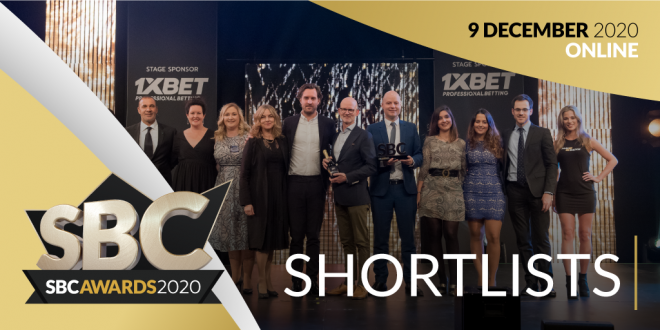 SBC Awards 2020 Shortlists Announcement