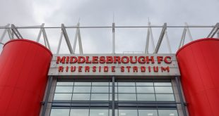 Image of Middlesbrough FC's Riverside Stadium