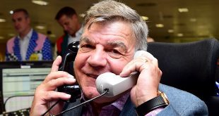 File photo dated 11-09-2019 of manager Sam Allardyce.