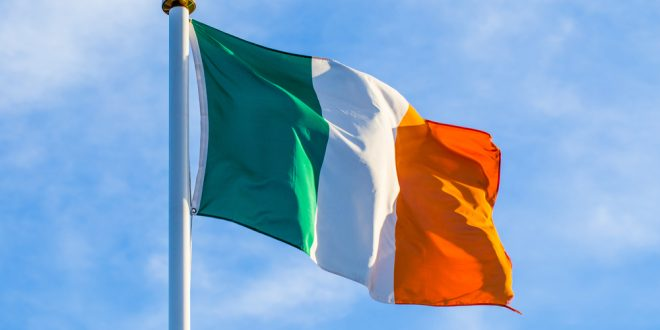 An Ireland flag