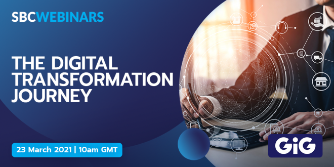 The Digital Transformation Journey webinar