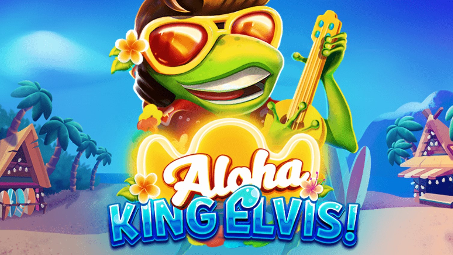 Elvis Frog has announced his latest performance in Hawaii in BGaming's sequel to its Elvis Frog in Vegas slot with Aloha King Elvis.