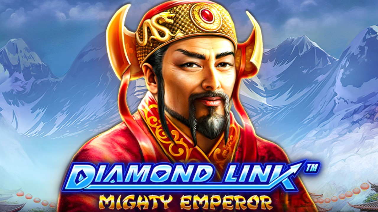 Greentube's latest slot title, the fourth in its Diamond Link series, with Diamond Link: Mighty Emperor