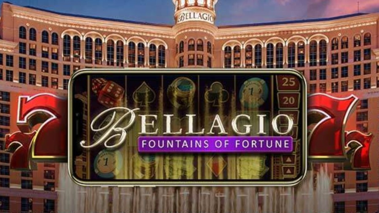 Bellagio Fountains of Fortune is a 5×3, 20-payline slot with features including a free spins feature, cascading wins and wild symbols.
