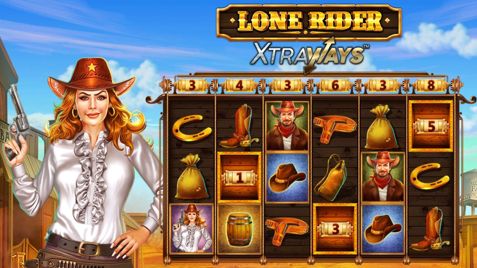 Stetson and spurs at the ready as Swintt takes players into the Wild West with its recent title to its suite of slots - Lone Rider XtraWays.