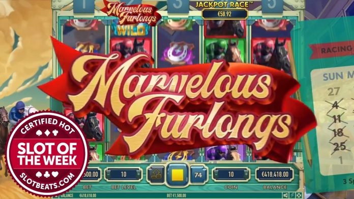 Habanero has galloped its way to our Slot of the Week title as Marvelous Furlongs becomes the latest game to win our coveted award.